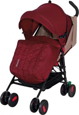 Детская прогулочная коляска Coletto Piccolo (Red) - с чехлом для ног