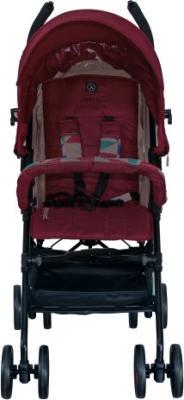 Детская прогулочная коляска Coletto Piccolo (Red) - вид спереди