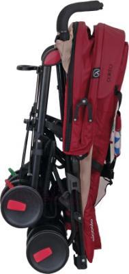 Детская прогулочная коляска Coletto Piccolo (Red) - в сложенном виде