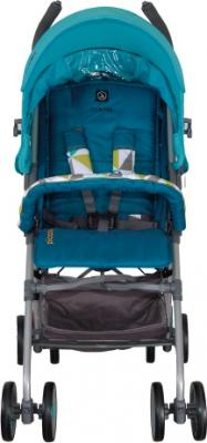 Детская прогулочная коляска Coletto Piccolo (Turquoise) - вид спереди
