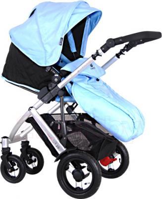 Детская универсальная коляска Coletto Dante 2 в 1 (голубой) - общий вид
