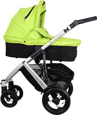 Детская универсальная коляска Coletto Dante 2 в 1 (светло-зеленый) - общий вид