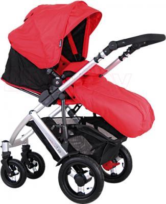 Детская универсальная коляска Coletto Dante 2 в 1 (красный) - общий вид