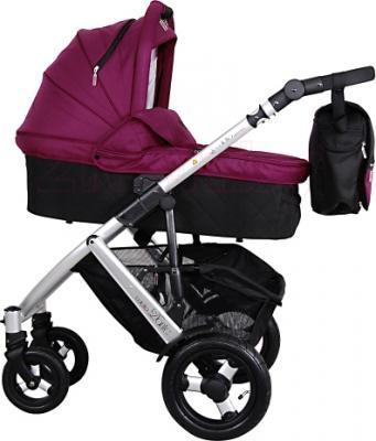 Детская универсальная коляска Coletto Dante 3 в 1 (фиолетовый) - общий вид
