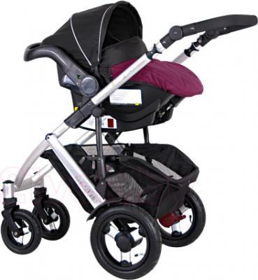 Детская универсальная коляска Coletto Dante 3 в 1 (фиолетовый) - с автокреслом