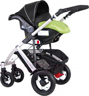 Детская универсальная коляска Coletto Dante 3 в 1 (светло-зеленый) - автокресло