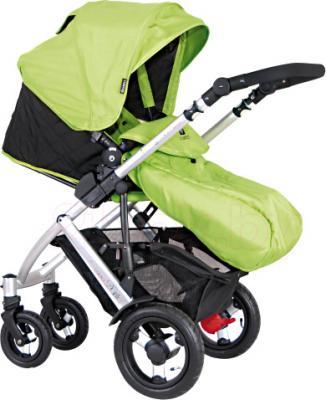 Детская универсальная коляска Coletto Dante 3 в 1 (светло-зеленый) - прогулочный вариант