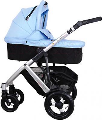 Детская универсальная коляска Coletto Dante 3 в 1 (голубой) - общий вид