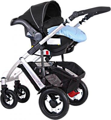 Детская универсальная коляска Coletto Dante 3 в 1 (голубой) - с автокреслом