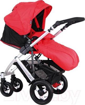 Детская универсальная коляска Coletto Dante 3 в 1 (красный) - прогулочный блок