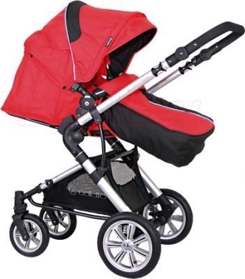 Детская универсальная коляска Coletto Giovanni 2 в 1 (красный) - общий вид