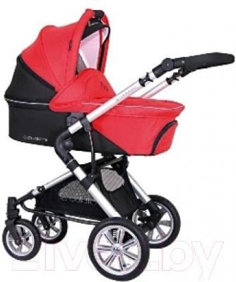 Детская универсальная коляска Coletto Giovanni 3 в 1 (красный) - люлька