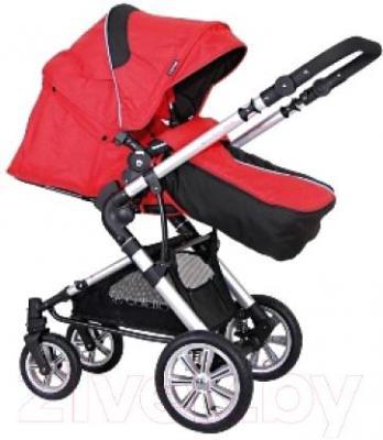 Детская универсальная коляска Coletto Giovanni 3 в 1 (красный) - прогулочный блок