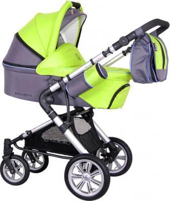 Детская универсальная коляска Coletto Giovanni 3 в 1 (светло-зеленый) - общий вид