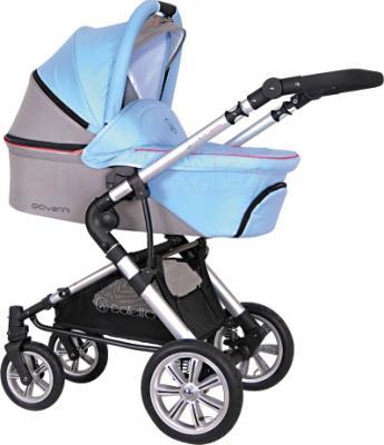 Детская универсальная коляска Coletto Giovanni 3 в 1 (голубой) - общий вид