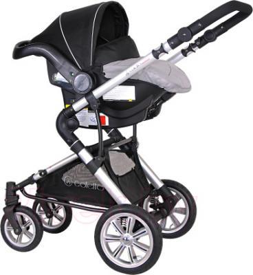 Детская универсальная коляска Coletto Giovanni 3 в 1 (серый) - автокресло