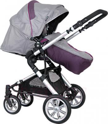 Детская универсальная коляска Coletto Giovanni 3 в 1 (серый) - прогулочный вариант