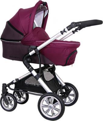 Детская универсальная коляска Coletto Giovanni 3 в 1 (фиолетовый) - общий вид