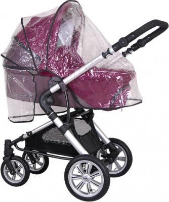 Детская универсальная коляска Coletto Giovanni 3 в 1 (фиолетовый) - с дождевиком