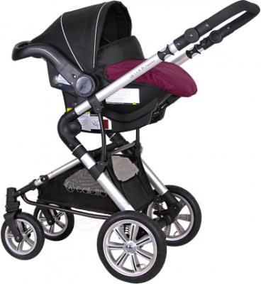 Детская универсальная коляска Coletto Giovanni 3 в 1 (фиолетовый) - с автокреслом