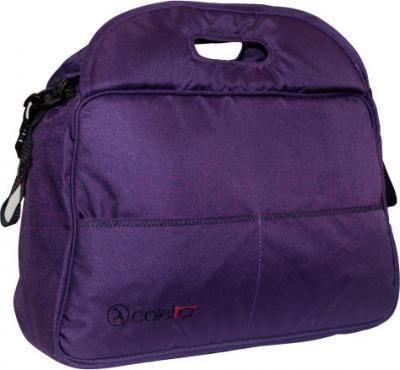 Детская универсальная коляска Coletto Marco Polo 2 в 1 (фиолетовый) - сумка
