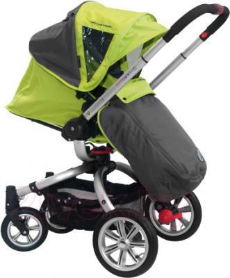 Детская универсальная коляска Coletto Marco Polo 2 в 1 (светло-зеленый) - прогулочный вариант
