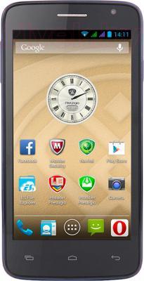 Смартфон Prestigio MultiPhone 3501 Duo (синий) - общий вид