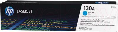 Тонер-картридж HP 130A (CF351A) - общий вид