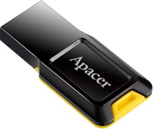 Usb flash накопитель Apacer AH132 Twilight Yellow 4GB (AP4GAH132B-1) - общий вид
