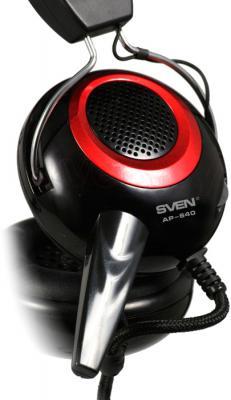 Наушники-гарнитура Sven AP-640 - чашка наушника с микрофоном