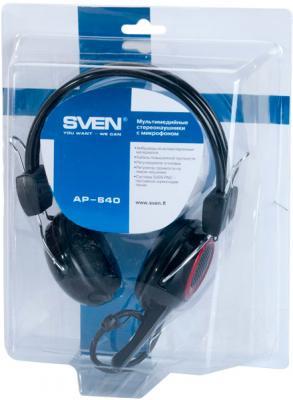 Наушники-гарнитура Sven AP-640 - в упаковке