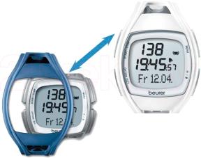 Пульсометр Beurer PM45 - часы со сменным браслетом