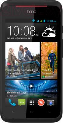 Смартфон HTC Desire 210 Dual (черный) - общий вид