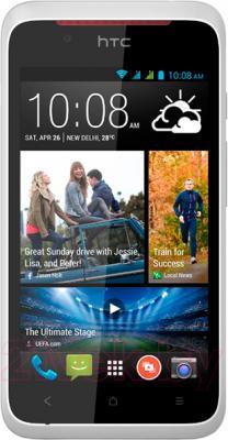 Смартфон HTC Desire 210 Dual (White) - общий вид