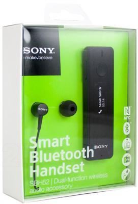 Наушники-гарнитура Sony SBH-52 - в упаковке