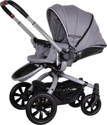 Детская универсальная коляска Coletto Messina 2 в 1 (серо-белый) - общий вид