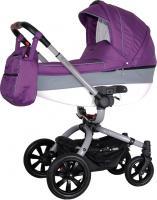 Детская универсальная коляска Coletto Messina 2 в 1 (серо-фиолетовый) -
