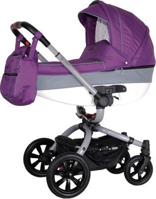 Детская универсальная коляска Coletto Messina 2 в 1 (серо-фиолетовый) - общий вид