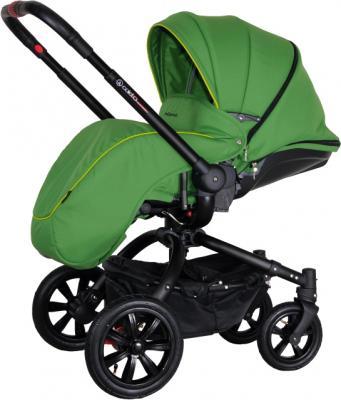 Детская универсальная коляска Coletto Messina 2 в 1 (зеленый) - с чехлом для ног