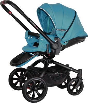 Детская универсальная коляска Coletto Messina 2 в 1 (голубой/белый) - общий вид