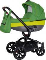 Детская универсальная коляска Coletto Messina 3 в 1 (зеленый) -
