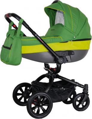 Детская универсальная коляска Coletto Messina 3 в 1 (зеленый) - люлька