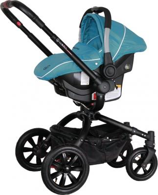 Детская универсальная коляска Coletto Messina 3 в 1 (голубой/белый) - с автокреслом