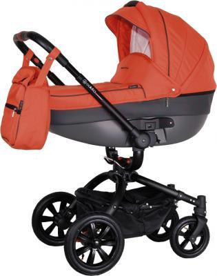 Детская универсальная коляска Coletto Messina 3 в 1 (красно-черный) - люлька