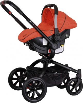 Детская универсальная коляска Coletto Messina 3 в 1 (красно-черный) - с автокреслом