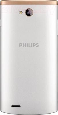Смартфон Philips S308 (белый) - вид сзади