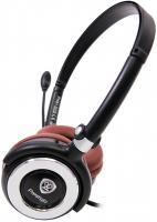 Наушники-гарнитура Prestigio PHS1 (Black-Brown) -