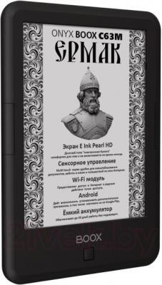 Электронная книга Onyx Boox С63M Ermak (Black) - вполоборота