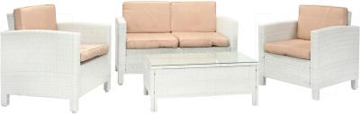 Комплект садовой мебели Garden4you Sicilia 27640 (белый) - общий вид