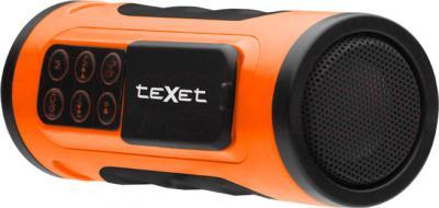 MP3-плеер TeXet Drum (оранжевый) - общий вид